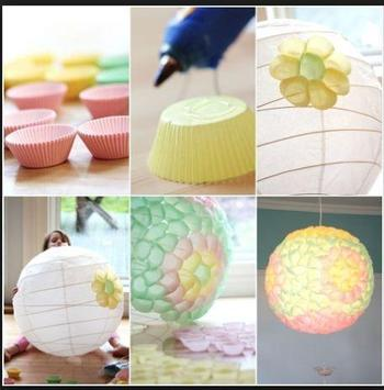 DIY paper lanterns screenshot 2