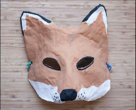 DIY paper mache mask apk screenshot