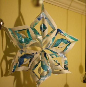 DIY Paper Snowflakes Idea screenshot 5