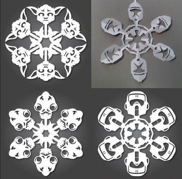 DIY Paper Snowflakes Idea poster