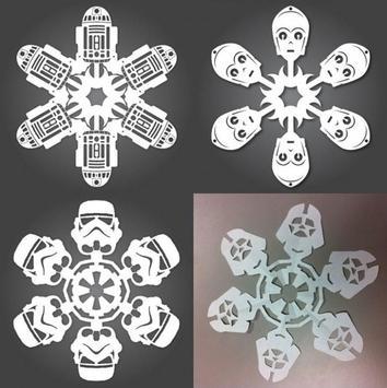 DIY Paper Snowflakes Idea screenshot 1