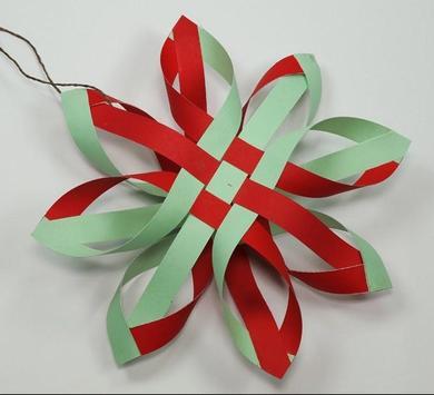 DIY Paper Snowflakes Idea screenshot 2