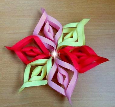 DIY Paper Snowflakes Idea screenshot 3