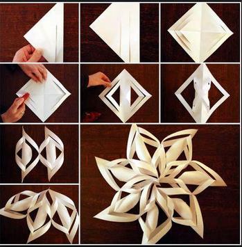 DIY Paper Snowflakes apk screenshot