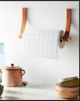 DIY paper towel holder poster