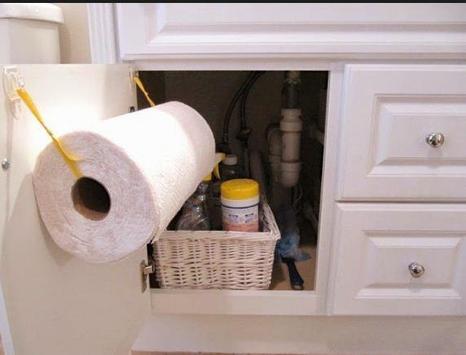 DIY paper towel holder screenshot 1