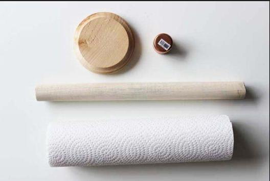 DIY paper towel holder screenshot 3