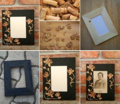DIY photo frame ideas poster