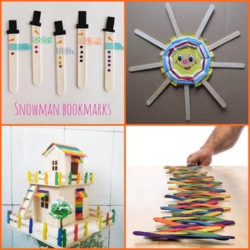 Popsicle Stick Craft Ideas apk screenshot