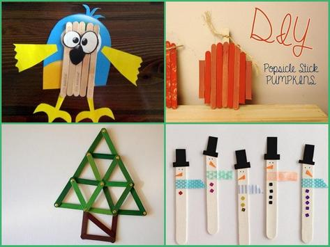 DIY Popsicle Stick Crafts apk screenshot
