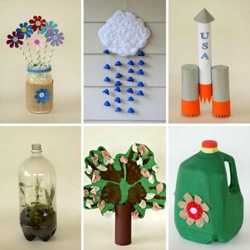 DIY Recycled Crafts poster