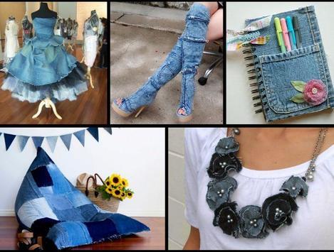 DIY recycled jeans screenshot 1
