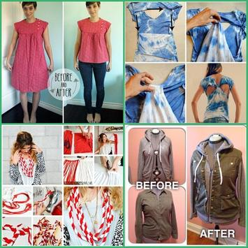 DIY Refashion Old Clothes screenshot 1
