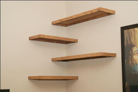 DIY shelves design screenshot 3