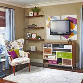 DIY shelves idea icon