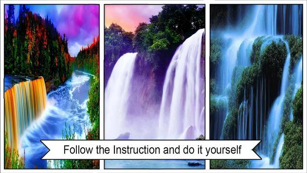 Beautiful Waterfall Wallpaper screenshot 2