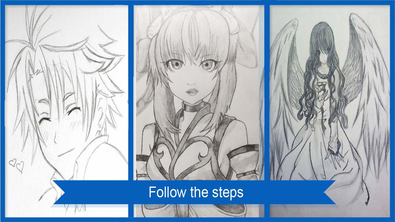 Menggambar sketsa manga screenshot 4