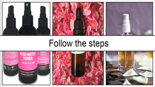 Easy DIY Rosewater Face Serum apk screenshot