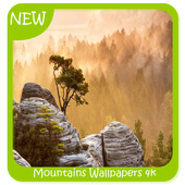 Mountains Wallpapers 4k icon