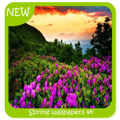 Spring wallpapers 4k icon