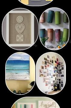 DIY Wall Art Design Ideas apk screenshot