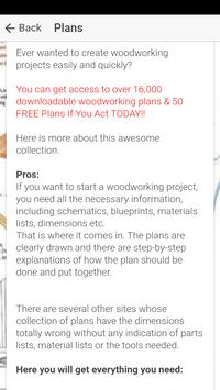 Woodworking Projects & Free Woodwork Plans screenshot 4