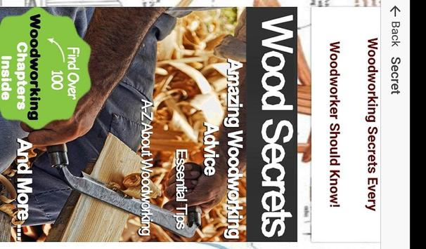 DIY Woodworking Projects - 50 Free Woodwork Plans apk screenshot