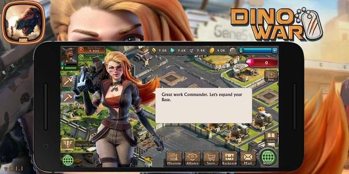 Dino War: Guide Tips et Strategy poster