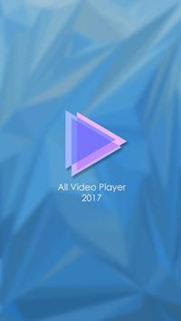 All Video Player 2017 screenshot 1