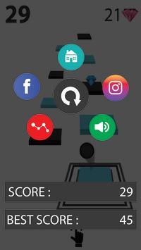 Zig Zag Bouncing Ball Rush- Free Vortex Tile Games screenshot 4