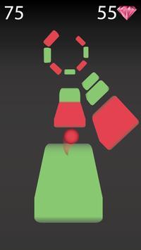 Zig Zag Bouncing Ball Rush- Free Vortex Tile Games screenshot 2