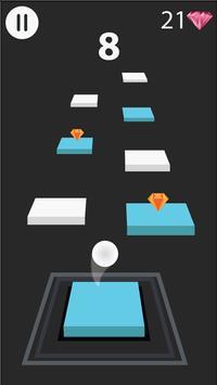 Zig Zag Bouncing Ball Rush- Free Vortex Tile Games screenshot 3