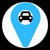 Locate Car Repair icon