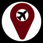 Locate Airports icon