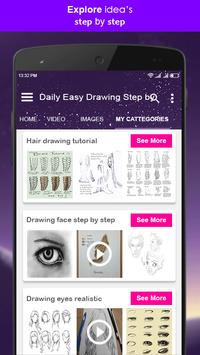Daily Easy Drawing Step by Step screenshot 3