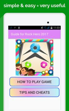 guide for rock hero 3 new poster