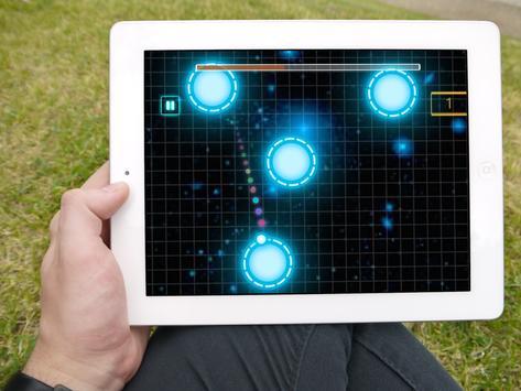 Galaxy Escape - Atom Radiation apk screenshot