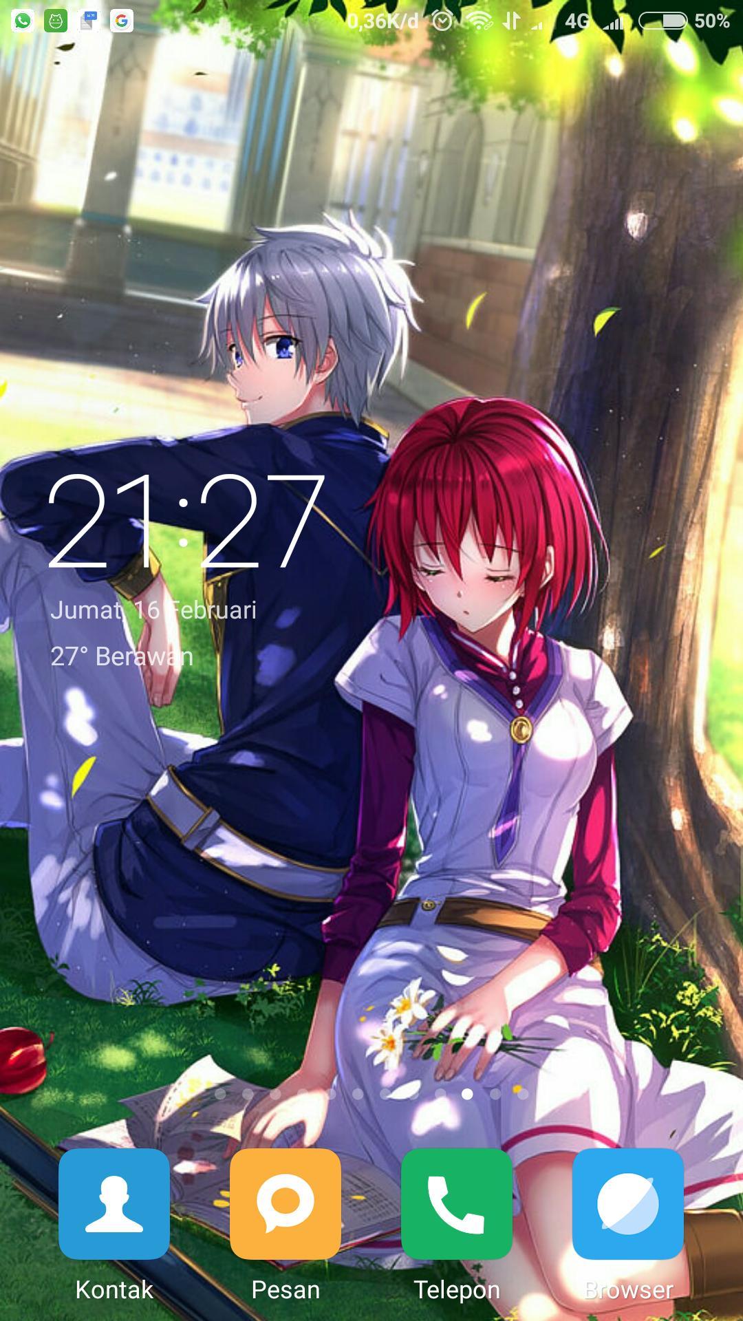 Wallpaper Akagami Shirayuki Hime Fansart For Android Apk Download