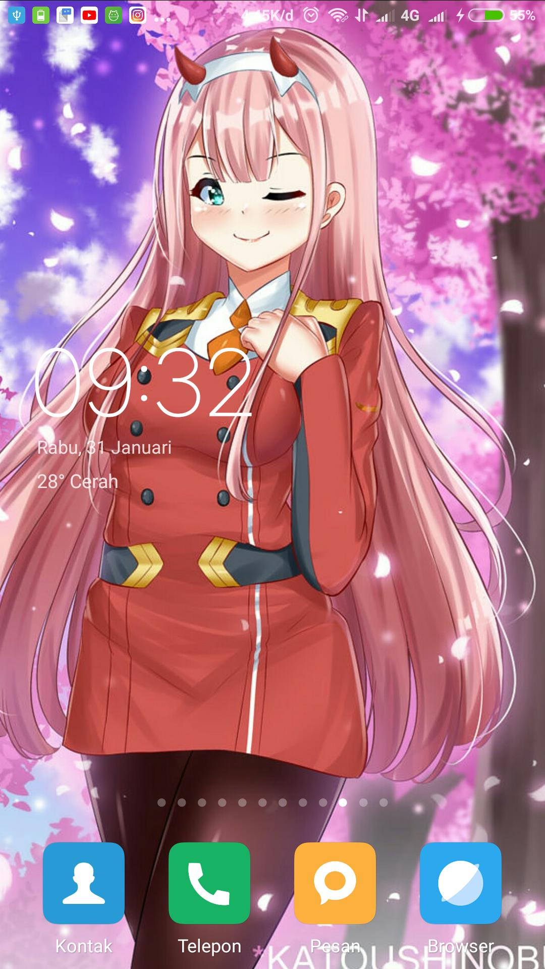 Android 用の Wallpaper Hd Darling In The Franxx Fansart Apk を