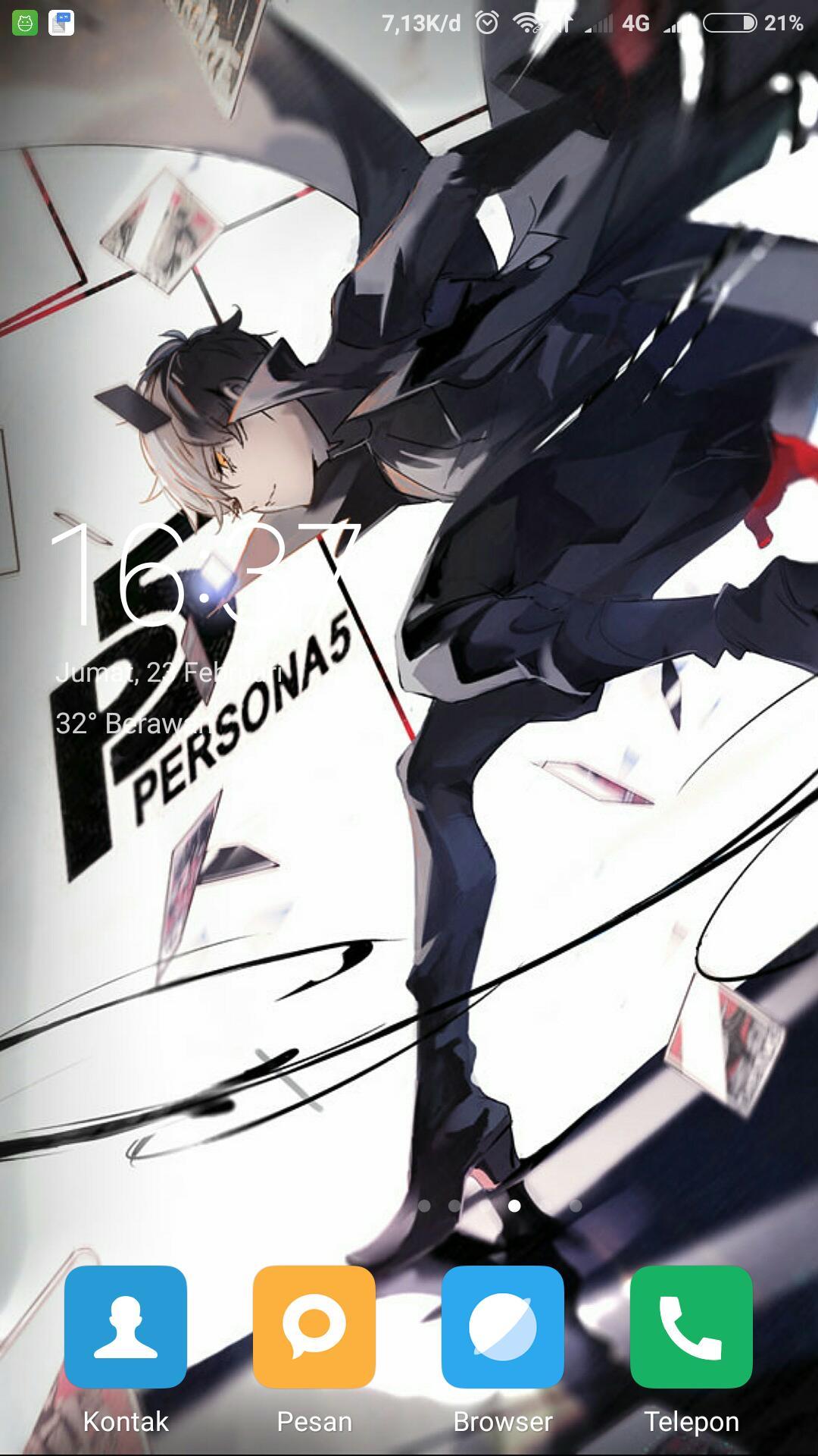Android 用の Persona 5 Fansart The Animation Wallpaper Apk をダウンロード