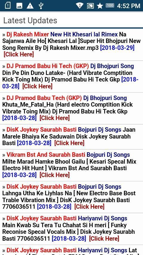 DJBasti Net- No 1 DJ Site for Android - APK Download