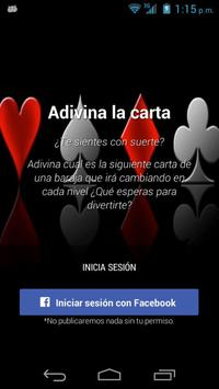 Adivina la Carta screenshot 1