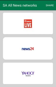 South African News Networks screenshot 1