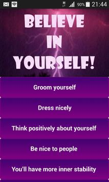 Self Confidence poster