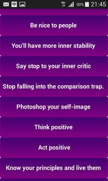 Self Confidence screenshot 1
