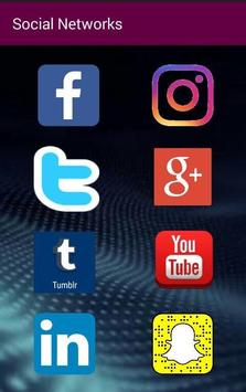 Social Networks All in one poster