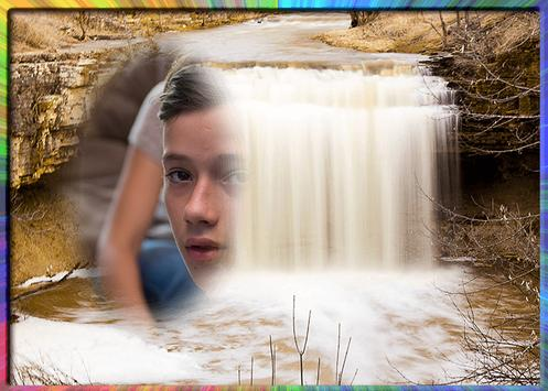 Waterfall Photo Editor poster