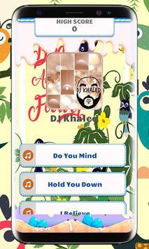 DJ Khaled Piano Tiles Music poster