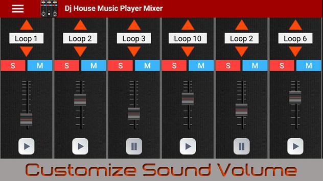 Dj House Music Player Mixer screenshot 1