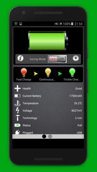 Battery saver Fast charging 2018 apk screenshot